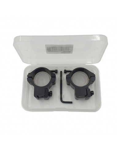 """Mounting two-piece 25.4mm (1 """") LOW"""